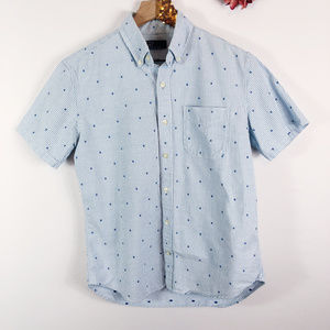 [GAP] Conductor Stripe Button Up Cotton Shirt